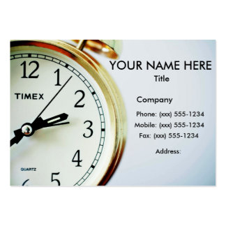 TIME ENOUGH! (Delivery, courier or messenger) ~ Business Card