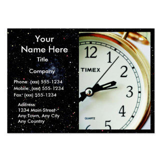 TIME ENOUGH! (Delivery, courier or messenger) v.2 Business Card Template