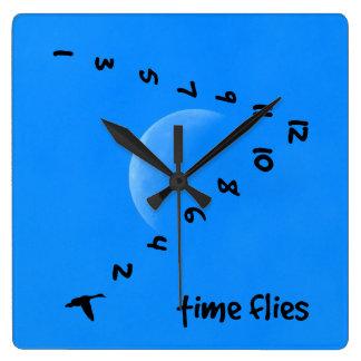 Time flies wallclock