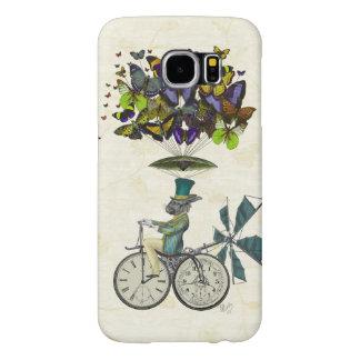 Time Flies Rabbit 3 Samsung Galaxy S6 Cases