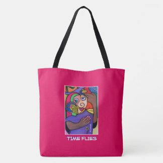 Time Flies -Time  Pieces Tote Bag