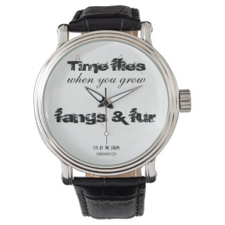 'Time flies' watch