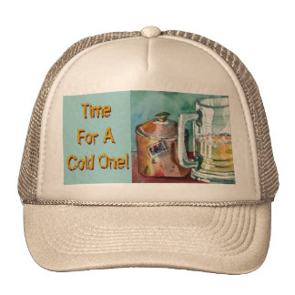 Time for a Cold One Cap