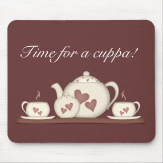 Time for a cuppa! mouse mat