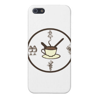 Time for a Mad Tea Party7 iPhone 5/5S Covers