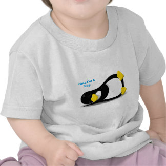 Time For A Nap Penguin T Shirts