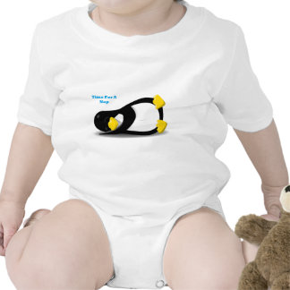 Time For A Nap Penguin Tee Shirt