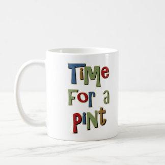 Time For A Pint Coffee Mug