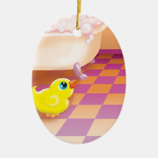 time for a rubber ducky tubby ornaments