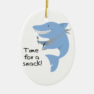 Time For A Snack! Ceramic Oval Decoration