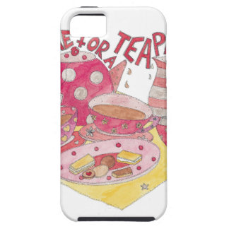 Time For A Tea Party iPhone 5 Cover