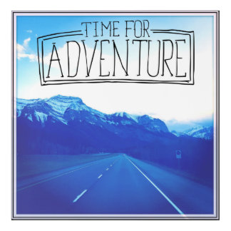 Time For Adventure Acrylic Wall Art