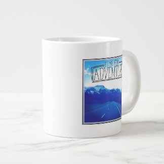 Time For Adventure Giant Coffee Mug