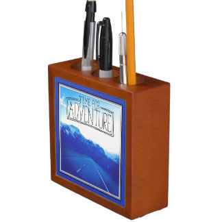 Time For Adventure Pencil/Pen Holder