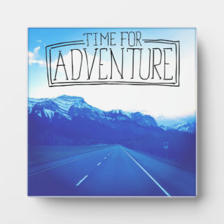 Time For Adventure Photo Plaques
