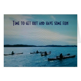 TIME FOR ADVENTURE TO BEGIN=HOMECOMING GREETING CARD