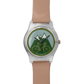 time for bike adventures wristwatches