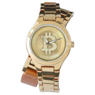 Time for bitcoin ~ elegant bitcoin logo watch