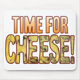Time For Blue Cheese Mouse Mat