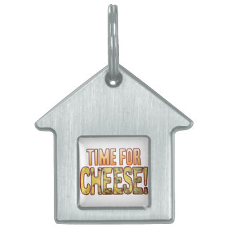 Time For Blue Cheese Pet ID Tag