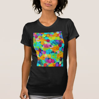 TIME FOR BUBBLY - Colorful Bright Bold Abstract Tees