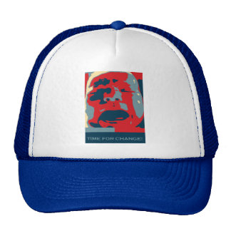 Time for change. Crying Baby. Obama inspired Cap