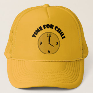Time For Chili Trucker Hat
