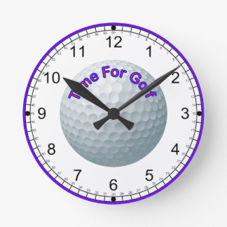 Time for Golf Clock