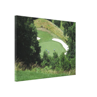 Time for Golf Gallery Wrapped Canvas