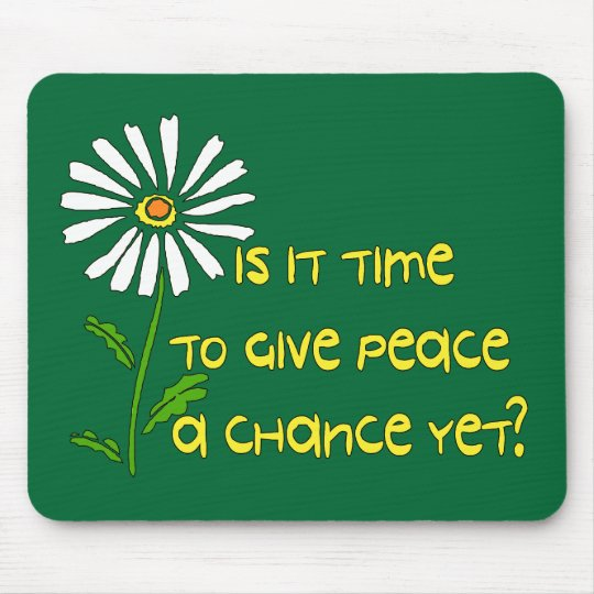 Time For Peace Mouse Mat