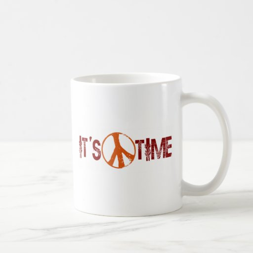 Time For Peace Coffee Mug
