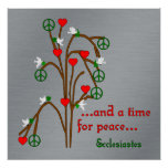 Time For Peace Poster