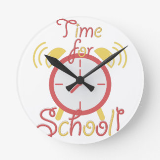 Time For School Clock