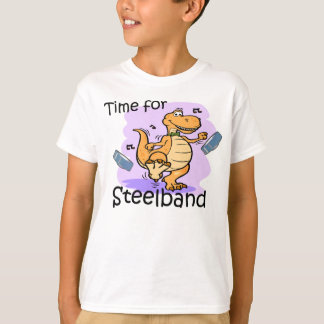 Time for Steelband kids shirt