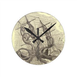 Time for Sushi! Kraken Clock