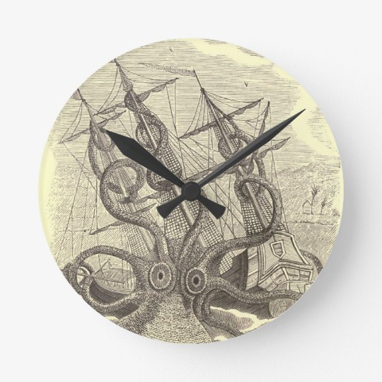 Time for Sushi! Kraken Clock