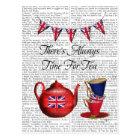 Time For Tea 2 Postcard