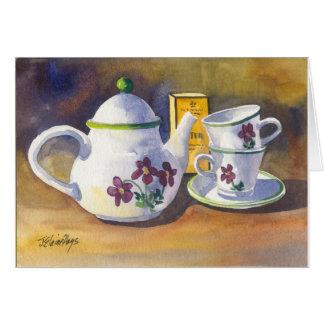 Time for Tea Card