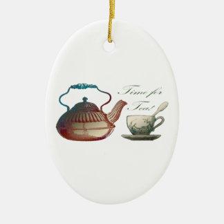 Time for Tea Christmas Ornament