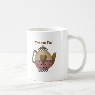 Time for Tea Coffee Mug