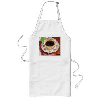 Time for Tea Design Long Apron
