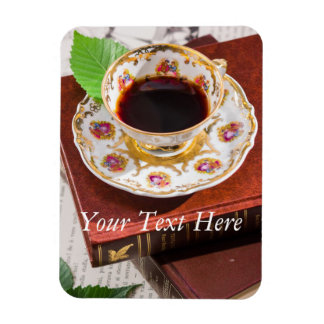 Time for Tea Design Rectangular Photo Magnet