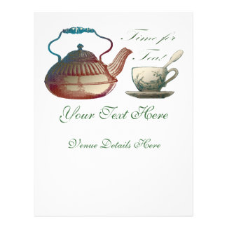 Time for Tea Flyer