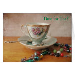 Time for Tea? Greeting Card