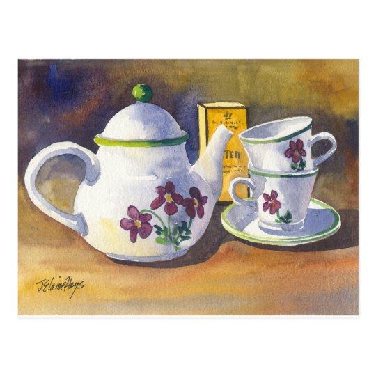 Time for Tea Postcard