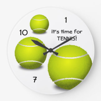 Time for Tennis Clock