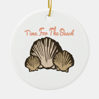 Time For The Beach Ornament