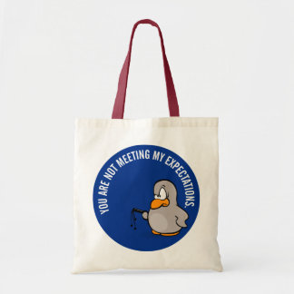 Time for your annual employee performance review budget tote bag