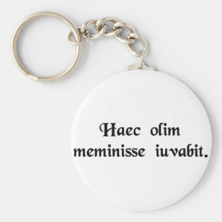 Time heals all things key chains