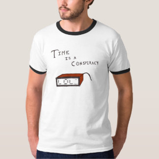 Time is a Conspiracy (Color) T-Shirt